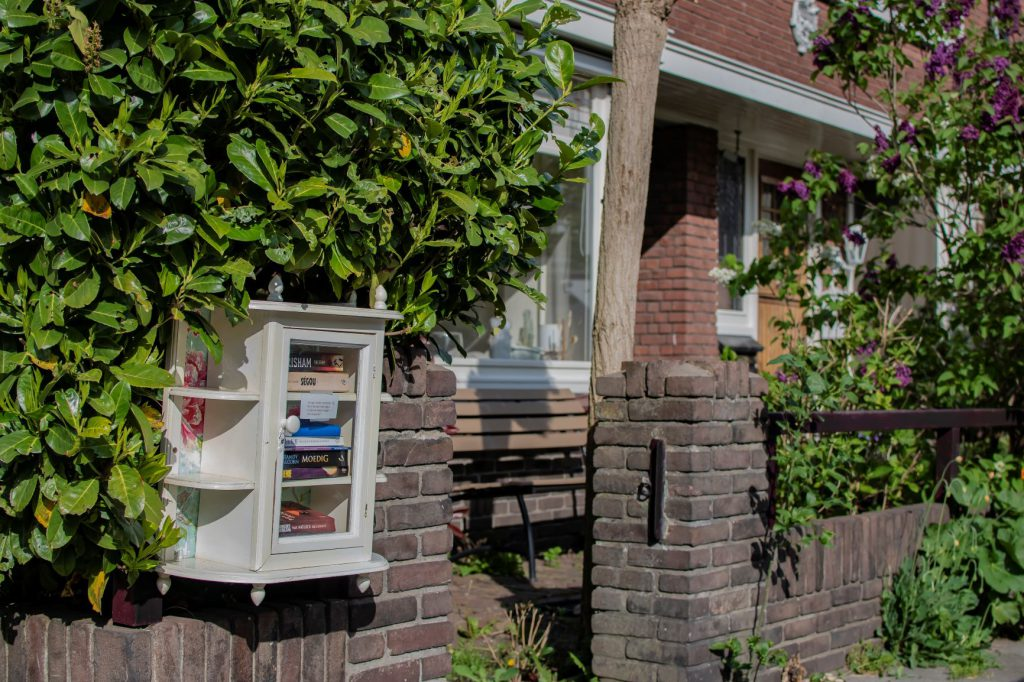 boekenkastje struiken